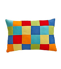 Fiesta® Multi Color Patchwork Pillow
