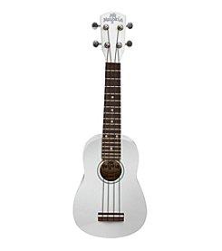 Melokia® White Soprano Ukulele