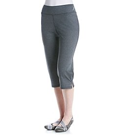 Exertek® Wide Waistband Semi Fitted Capris