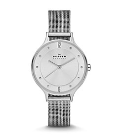 Skagen Women's Anita Watch in Silvertone Mesh