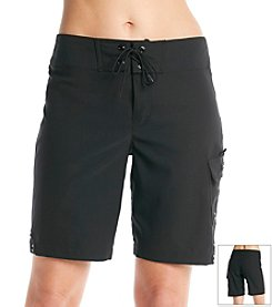 Jag® Long Tie Front Boardshorts