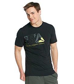 Reebok® Men's Black Logo Graphic Tee