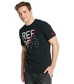 Reebok® Men's Black Firewall Graphic Tee