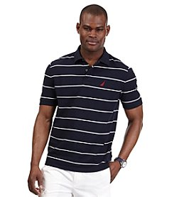 Nautica® Men's Stripe Anchor Performance Deck Polo Shirt