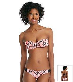 Hurley® Grid Lock Bandeau Bikini