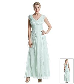 Adrianna Papell® Chiffon Petal Dress
