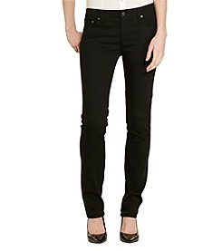 Lauren Jeans Co.® Super Stretch Straight-Leg Jean