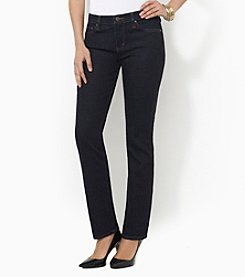 Lauren Jeans Co.® Slimming Stretch Straight-Leg Jean