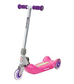 Razor Jr. Folding Kiddie Kick Scooter - Pink