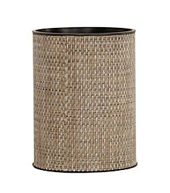 LaMont Home® Roxie Round Brown Wastebasket