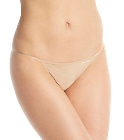 Calvin Klein Sleek String Bikini - Bare