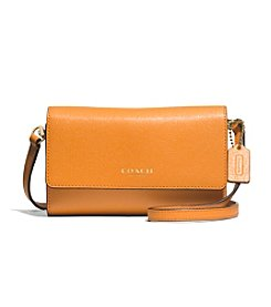 COACH PHONE CROSSBODY IN SAFFIANO LEATHER