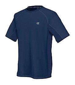 Champion® Men's Navy Short Sleeve Performance Tee