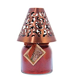 A Cheerful Giver Copper Victorian Candle Shade