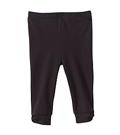 Cuddle Bear® Mix & Match Baby Girls' 6-24M Black Solid Bow Leggings
