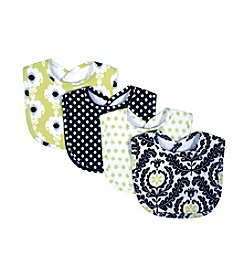 Waverly® by Trend Lab 4-pk. Rise and Shine Bibs