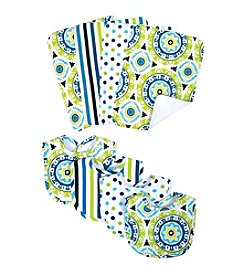 Waverly® by Trend Lab 8-pk. Solar Flair Bib and Burp Cloth Set