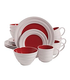 Isaac Mizrahi® Caribbean Color Pomegranate 16-pc. Dinnerware Set