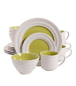 Isaac Mizrahi® Caribbean Color Lime 16-pc. Dinnerware Set
