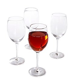 Isaac Mizrahi® Western Isle Set of 4 Wine Glasses
