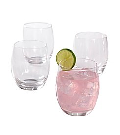 Isaac Mizrahi® Western Isle Set of 4 Double Old Fashioned Glasses