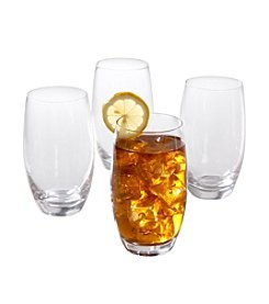 Isaac Mizrahi® Western Isle Set of 4 Tumbler Glasses