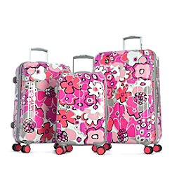 Olympia Blossom II Fuchsia Luggage Collection