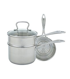 Range Kleen 4-pc. Stainless Steel Multi-Sauce Pan
