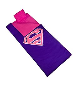 Wildkin Superman® Pink Shield Sleeping Bag