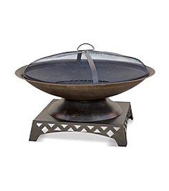 UniFlame® Oil Rubbed Bronze Wood Outdoor Firebowl
