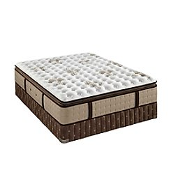 Stearns & Foster® Estate Maddison-Leigh Luxury Firm Euro Pillow-Top Mattress & Box Spring Set