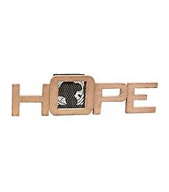 Deco Breeze Wood Hope Figurine Fan