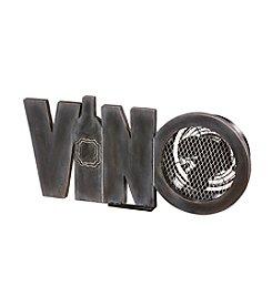 Deco Breeze Wood Vino Figurine Fan