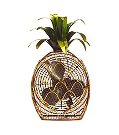 Deco Breeze Pineapple Figurine Fan
