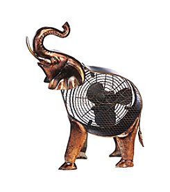 Deco Breeze African Elephant Figurine Fan