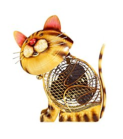 Deco Breeze Country Cat Figurine Fan