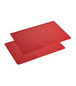 Cake Boss® Countertop Accessories 2-pc. Set of Red Silicone Baking Mats