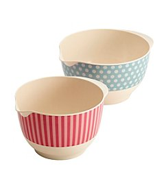 Cake Boss® Countertop Accessories 2-pc. Melamine Mixing Bowl Set