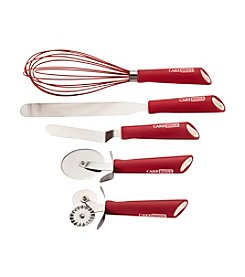 Cake Boss® Stainless Steel Tools and Gadgets 5-pc. Red Baking and Decorating Tool Set
