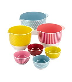 Cake Boss® Countertop Accessories 7-pc. Melamine Mixing and Prep Bowl Set
