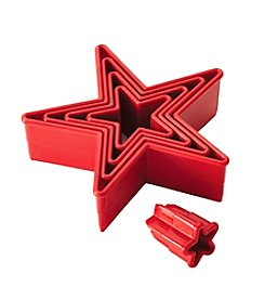 Cake Boss® Decorating Tools 5-pc. Red Nylon Star Fondant and Cookie Cutter Set