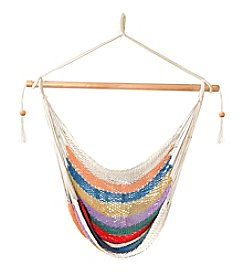Bliss™ Hammocks Multi Stripe Island Rope Hammock Chair