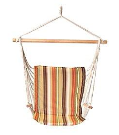 Bliss™ Hammocks Green Stripe Metro Hammock Chair