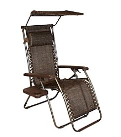 Bliss™ Hammocks Gravity Free Brown Jacquard Recliner