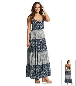 Lucky Brand® Tiered Prairie Maxi Dress