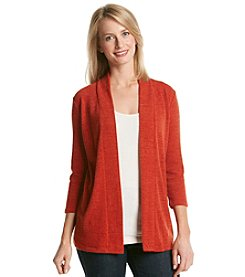 Laura Ashley® Sweater Knit Open Cardigan