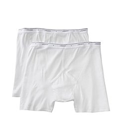 Jockey Men's White 2-pk. Big Man Midway Brief