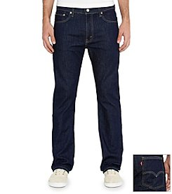 Levi's® Men's Bastion Blue 513™ Slim Straight Denim Jeans
