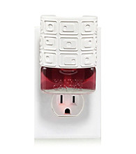 Yankee Candle® White Squares Scent Plug In Decorator Shade