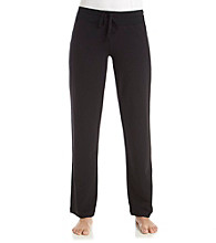 HUE® Knit French Terry Pants - Black